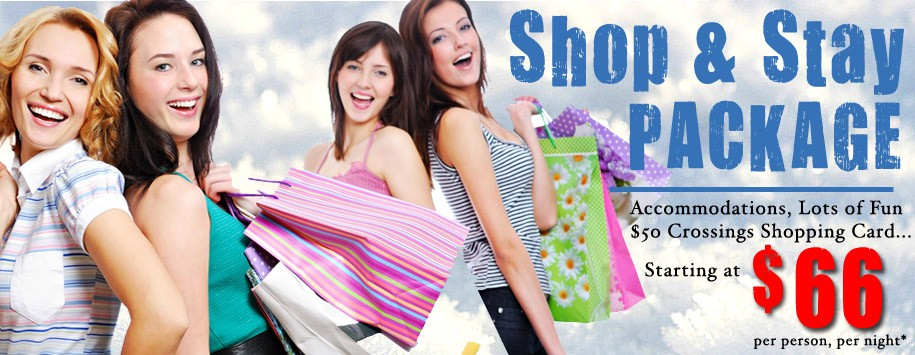 Shop and Stay Ad Banner